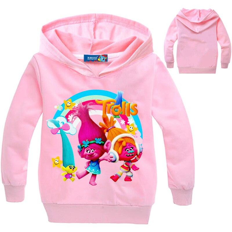 a65f768f3870e Acheter Trolls Vêtements Pour Enfants Coton À Manches Longues À ...
