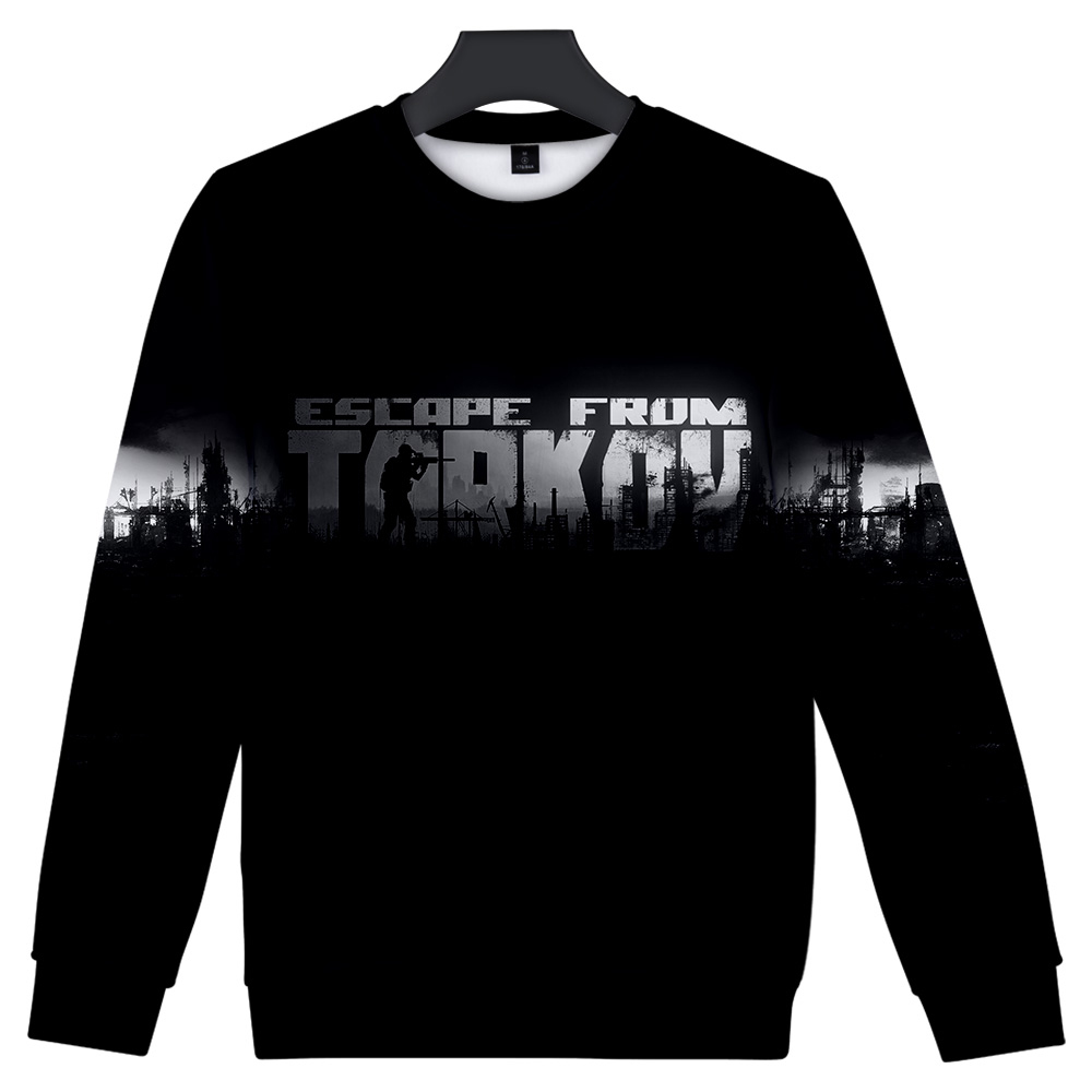 Escape From Tarkov Capless Sweatshirts Men/Women Harajuku Fashion Long Sleeve 3D Printed O-Neck Sweatshirt Streetwear Clothes 1