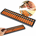 New Non-toxic Materials Plastic Abacus Arithmetic Soroban 17 Digits Kids Maths Calculating Tool Educational Toys 26.8cm x 1.5cm