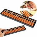 Nuevo Material No tóxico Plástico Abacus Aritmética Soroban 17 Dígitos Niños Matemáticas Cálculo Tool Juguetes Educativos 26.8 cm x 1.5 cm
