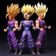 ZXZ 23cm Anime Dragon Ball Z Super Saiyan Son Gohan Action Figures Master Stars Piece Dragonball