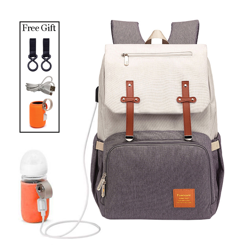 Baby Diaper Bags for Dads Moms Backpack Large Capacity Waterproof Nursing Bags Travel Stroller Bag Luxury Organizer For Twins 1