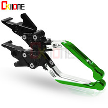 Universal Motorcycle CNC Aluminum Adjustable Folding Extendable Brake Clutch Levers For Kawasaki Z900RS Z900 Z 900 RS 2018