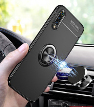 For Xiaomi mi9 case cover mi 9 se metal magnet car ring holder Back Cover Case for xiaomi mi8 lite Full