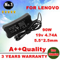 Wholesale laptop adapter AC Charger power  For Lenovo G530 G550 U350 U450 U450p Y550 19V 4.74A 5.5*2.5mm 90W Power Supply
