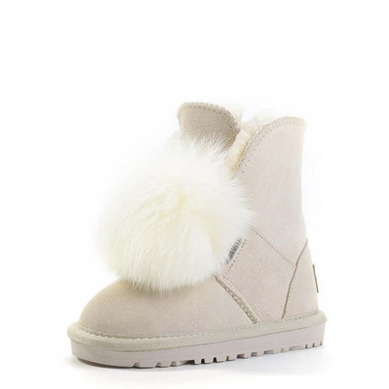 kids shoes for girl winter snow boots fashion cute princess