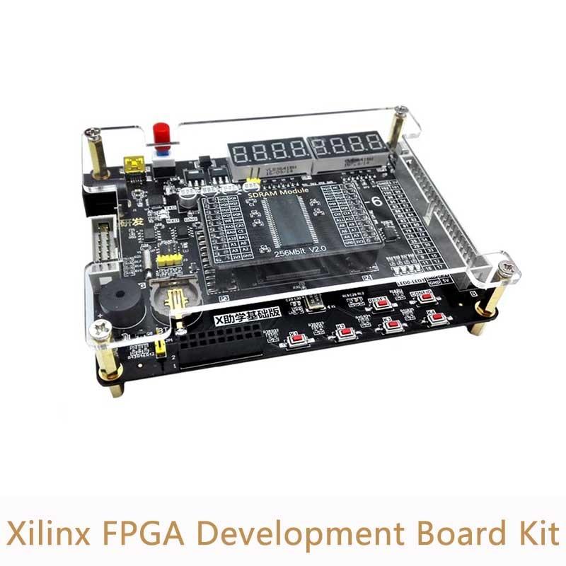 Xilinx FPGA Development Board Kit Spartan 6 XC6SLX9 Development Board 256Mbit SDRAM VGA Module XL012