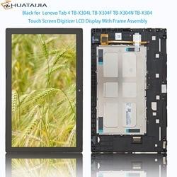 Touch Панель ЖК-дисплей Дисплей 10,1 ''дюймовый для lenovo Tab 4 TB-X304L TB-X304F TB-X304N TB-X304 Сенсорный экран планшета Ассамблеи