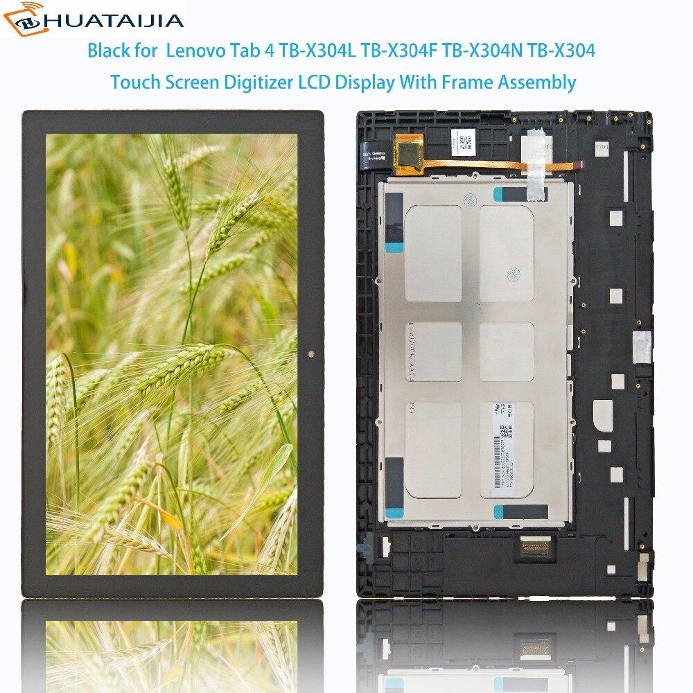 Touch Panel LCD Display 10.1'' Inch For Lenovo Tab 4 TB-X304L TB-X304F TB-X304N TB-X304 Touch Screen Digitizer Assembly touch panel lcd display 10 1 inch for huawei honor 5 tab 5 ags2 w09chn ags2 w09bhn ags2 al00h touch screen digitizer assembly