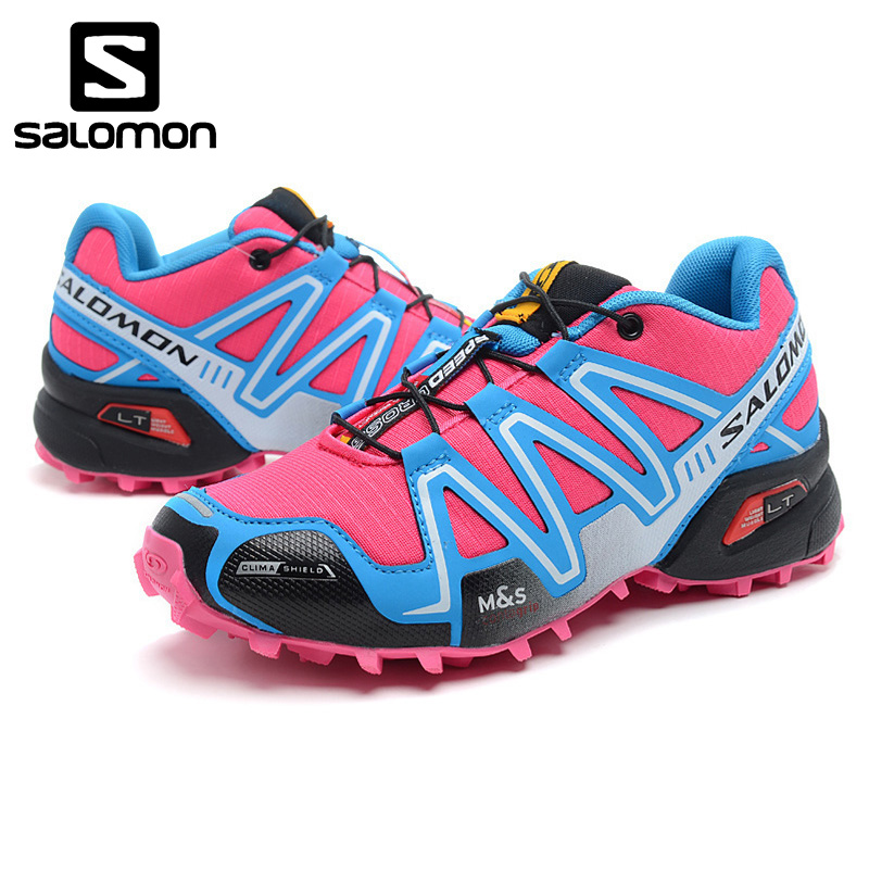 Salomon Speedcross 3 CS Women Outdoor Jogging Running Shoes Breathable Athletics Sport Female Fencing Running Comfortable nickel bay nick