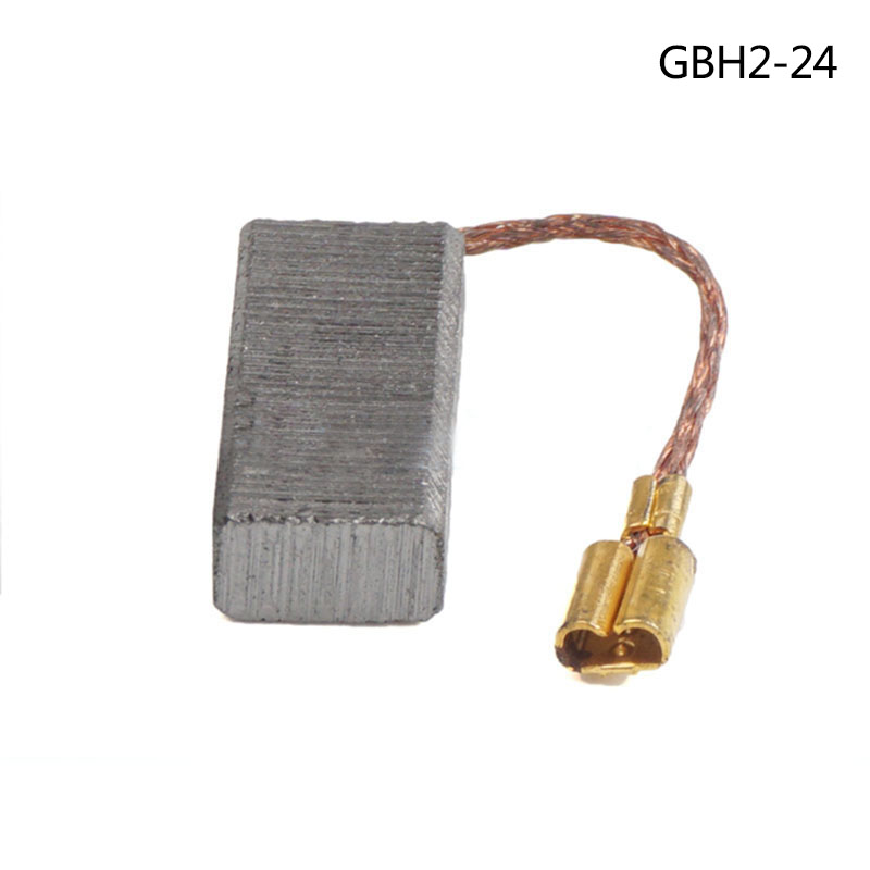 CARBON BRUSHES For Bosch GBH2-24 Electric Hammer , Electric hammer accessories ,High-quality ! bosch gbh 2 23 rea