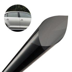 Image 1 - VLT 22% Car Window Tint Car Solar Film Sticker 0.5*3M Car Home Glass Explosion proof Window TINTING Vinyl Roll C900