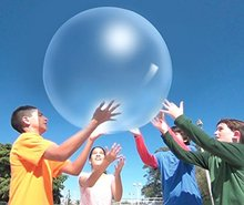 CCINEE 30cm Bubble Ball Inflatable Fun Ball Amazing Tear Resistant Super Wubble Bubble Ball Inflatable Outdoor