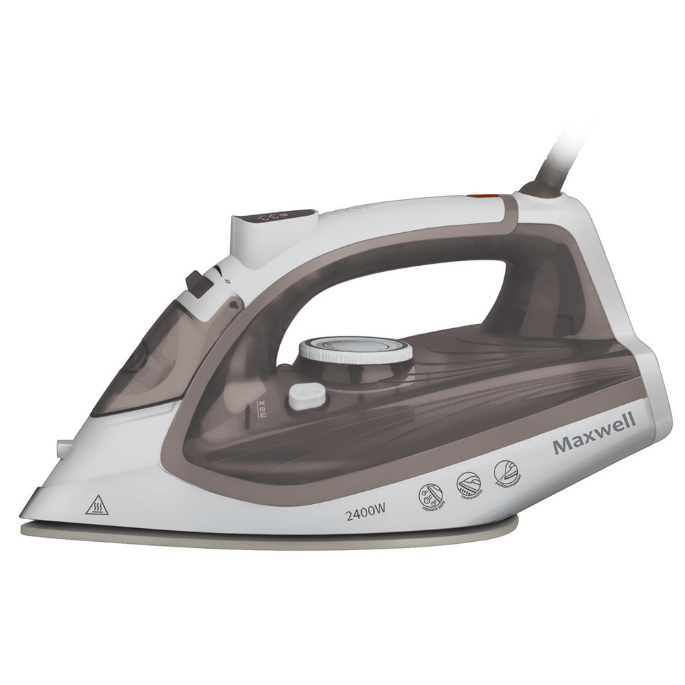 Steam iron MAXWELL MW-3047(BN) утюг maxwell bn 3047