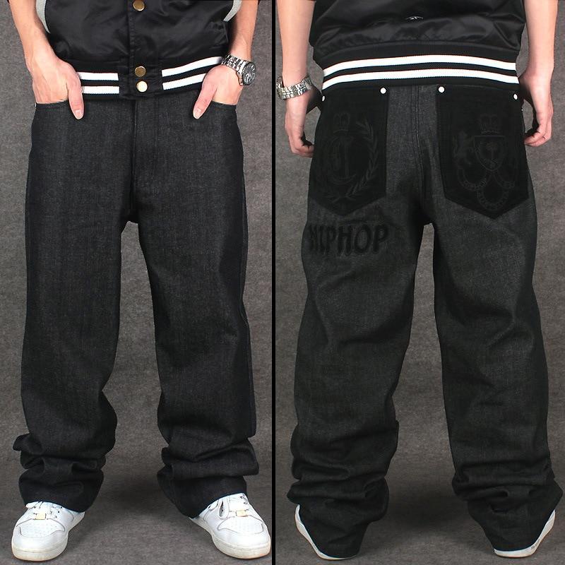 2019 Loose hip hop джинси чоловічі друковані - Чоловічий одяг