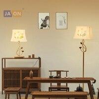 led e27 Chinese Iron Fabric Lotus LED Lamp LED Light LED Floor Lamp Floor Light For Dinning Room Bedroom