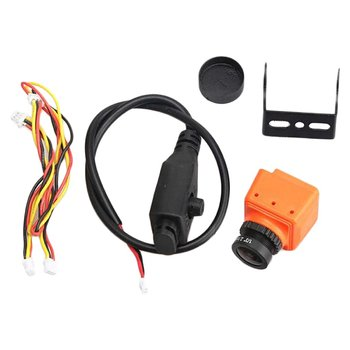Mini FPV MS-1675 600TVL 2.5mm Orange Camera Lens Spare Replacement Parts Accessories Hardware for RC Racing Drone Quadcopter