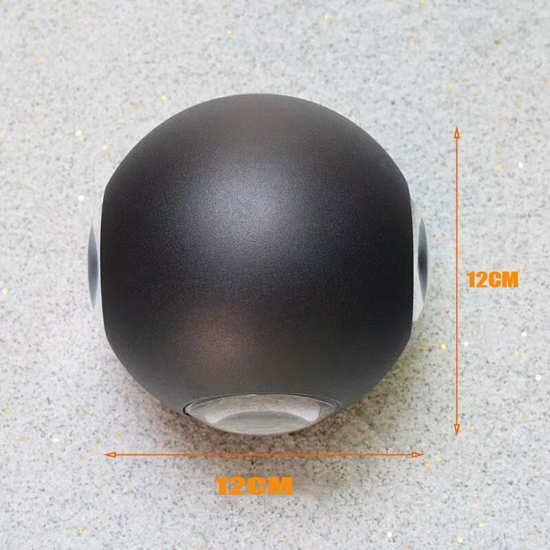 Luminária led, à prova d'água, moderna, nórdica,