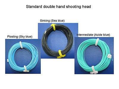 Aventik Double Hand Shooting Head Fly Fishing Combo For Fly Fishing Line NEW Fly Shooting Head line