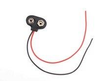 10 pcs 9 V Pressão Conector Wires clipe de Chumbo holderr