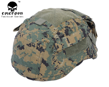 Discount Emerson Tactical Airsoft Paintball Hunting Shooting Gear Combat Helmet Cover Cloth For Mich2001 Ver2