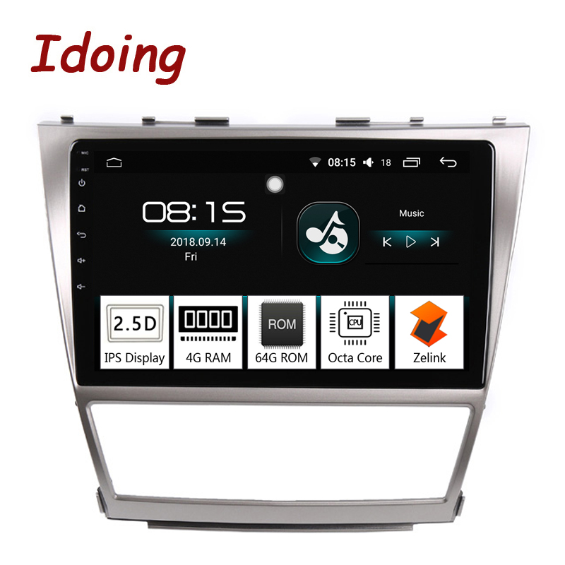 """Battery For 2006 Toyota Camry: Aliexpress.com : Buy Idoing 10.2""""Car Android8.0 Radio"""