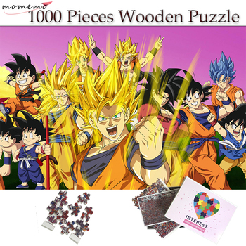 momemo game of thrones wooden puzzles 1000 pieces white walkers and dragon adults 1000 pieces jigsaw puzzle teenagers kids toys MOMEMO Dragon Ball Puzzle 1000 Pieces Wooden Jigsaw Puzzle Cartoon Anime Super Saiya Goku Puzzle for Kids Adults Teenagers Toys