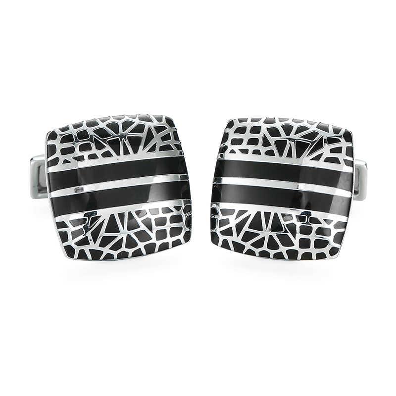 KC 高品質メンズシャツカフスボタン新ファッションクラシッククローバーレトロスタイルカフス、フレンチシャツブランドジュエリーボタン