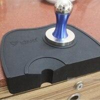 Alta qualidade café espresso tamper esteira de canto de silicone (sem tamper de café)|mat|mat silicone|mat mat -