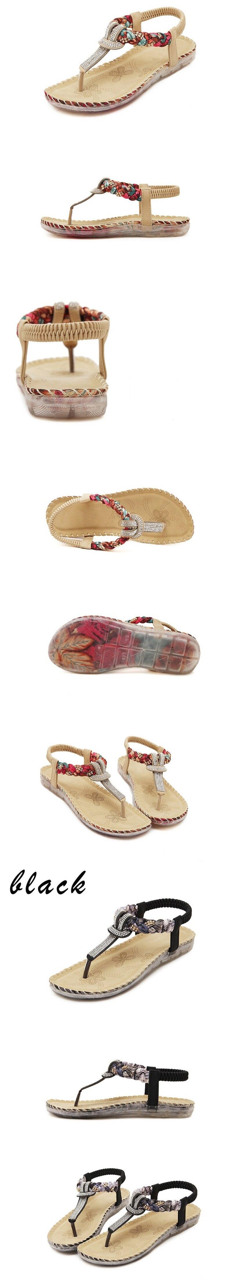 HTB1kSQAzaSWBuNjSsrbq6y0mVXaU TIMETANG Women Sandals Bohemia Women Casual Shoes Sexy Beach Summer Girls Flip Flops Gladiator Fashion Cute Women Flats Sandals