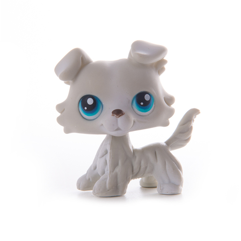 LPS Pet Shop Presents Collie Dog Littlest Toys Cat Dolls Mini Action Figure Model High Quality Limited Collection Toys Gift Girl
