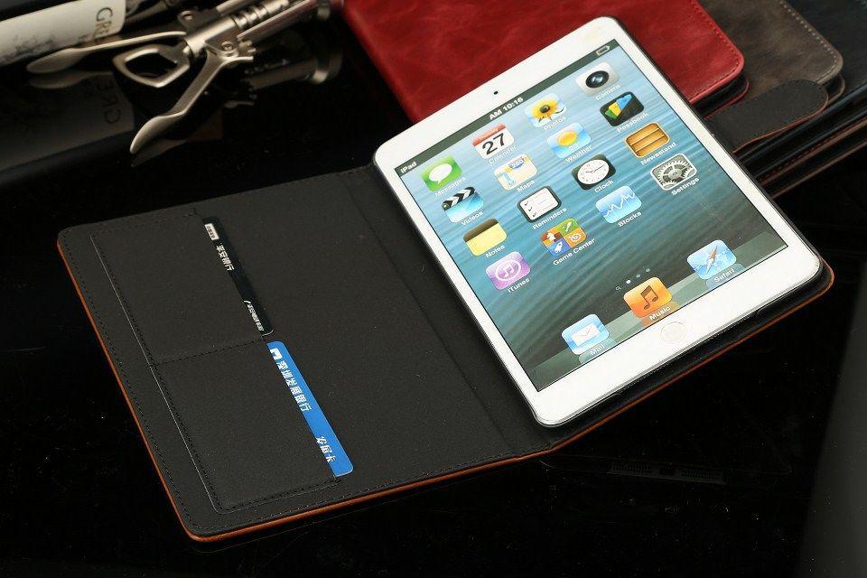 Funda de cuero de alta calidad para iPad Mini 2 Retina Smart Funda - Accesorios para tablets - foto 5