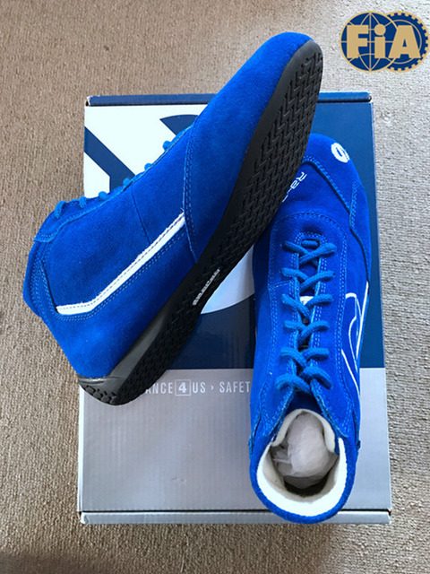 hot sell blue color racing shoes with Balaclava as gift for sell