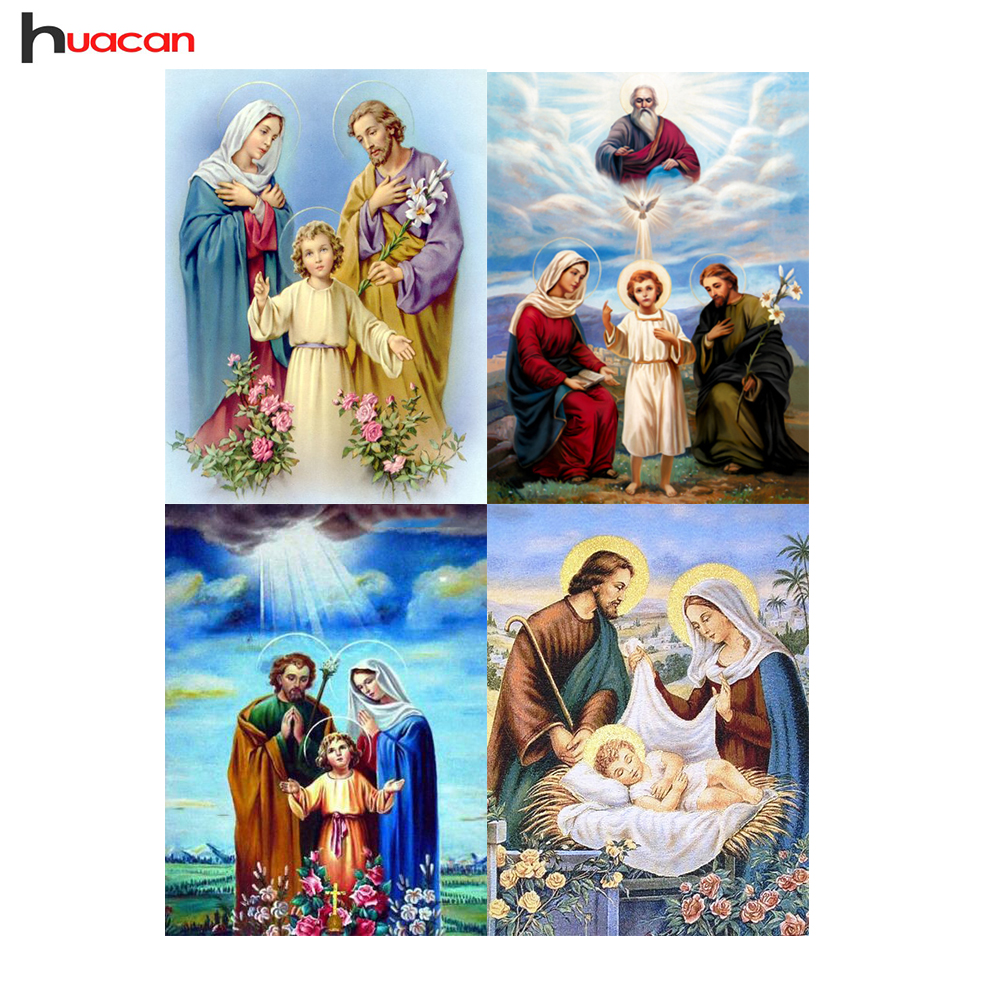 Round,Diamond Embroidery,Religion Series,Home Decor,5D DIY,Diamond Painting,Cross Stitch,Full Drill,Factory Direct,Needlework