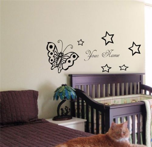 Wall Decal When The Baby First Laughed Peter Pan Tinkerbell Nursery Quote