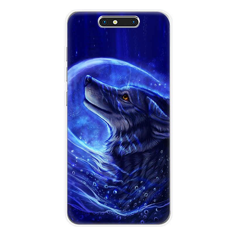 Чехол для телефона для ZTE Blade V7 lite V8 lite mini A910 A602 A610 A520 A512 Axon7 мини Z10 Черный волк Лев Мягкий силиконовый чехол на заднюю панель