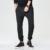 2017 Más El Tamaño Mens Joggers Esposadas Joggers Pantalones harén Pantalones de Los Hombres Pantalones Largos de Algodón Europea Nueva Negro Basculador