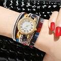 New Fashion Luxury Brand Women Watches Rhinestone Gold Quartz Watch Female Bracelet Watch Lady Wristwatch relogio feminino