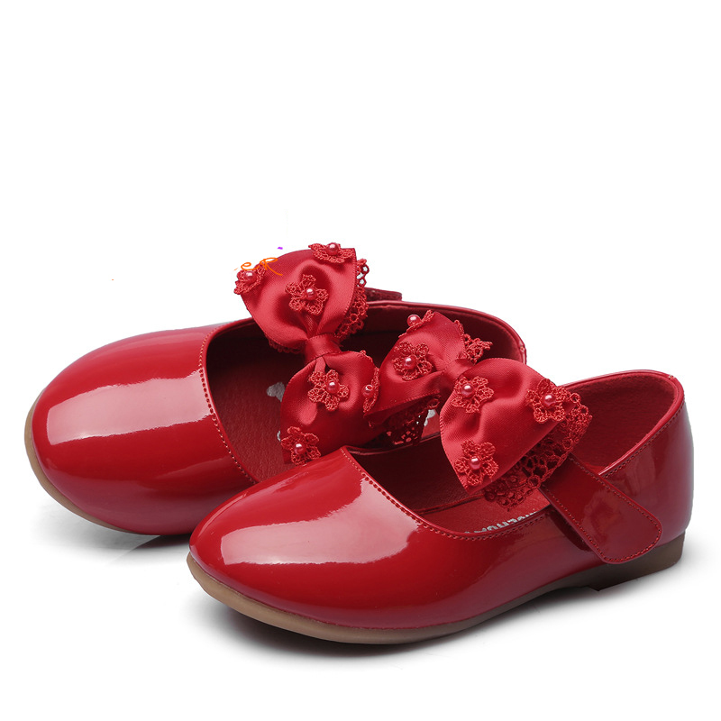 цена Genuine leather Lovely kids shoes Summer baby girls flats Patch fashion high quality beautiful children sandals infant footwear