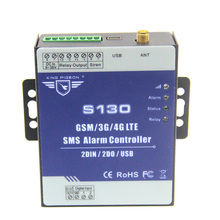 GSM 3G 4G SMS Remote Controller Alarm System 2 DIN 2 DOUT RTU Controller for Automation monitoring System S130