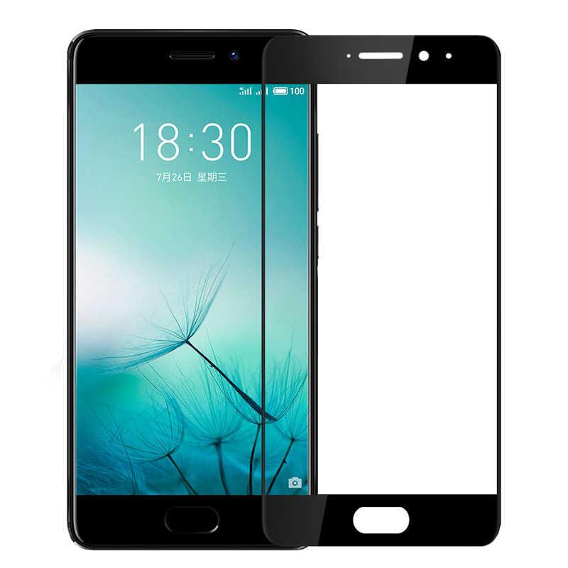 Casptm Penuh Cover Tempered Glass untuk Meizu M6S M5C M5 Catatan M5S M5 S M3 M6 Note Pro 6 7 plus Tanggal 16 2.5D Pelindung Layar