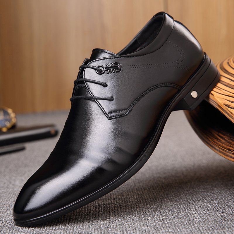 Fashion Mens Lace Up Pointy Toes Dress Formal Wedding Low Top Business Shoes New