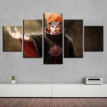 Modular Wall Art Canvas 5 Pieces Animation Naruto HD Prints Pictures Paintings Home Decoration Posters For Living Room Framework