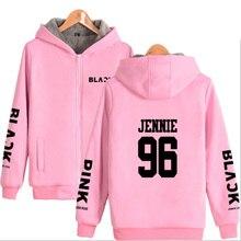 BLACKPINK Warm Velvet Hoodie Jacket (20 Models)