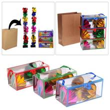 Mini Dream Bag / Appearing Flower Box  Magic Tricks Super Delux Bag Appearing Flower Empty From Box Magic Props dream box