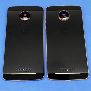 Image 1 - Задняя крышка аккумуляторного отсека, совершенно новый корпус средней крышки и задняя крышка, замена для Motorola Moto Z XT1650  01  03  05