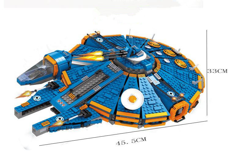 2015 New Star Wars Millennium Falcon Outer Space Ship Building Blocks Toys Gift for Children Compatible with legoe