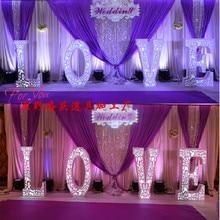 romantic New Design Wedding Backdrop  Stage Curtain 3M*6M