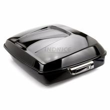 Яркий черный нарезанный Тур Пак улица glide FLHX Магистральные обновления для Harley Touring Electra glide 2014-2018