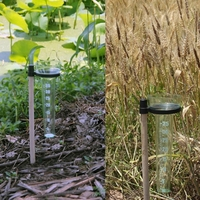 Polystyrene Rain Gauge Up to 35mm Measurement Tool For Garden Water Ground|Gauges| |  -